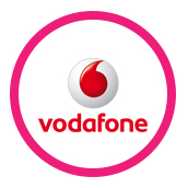 prepaid provider vodafone logo