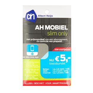 AH Mobiel prepaid SLIM ONLY