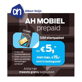 AH Mobiel prepaid standaard