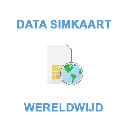 Data simkaart - data only - Wereldwijd
