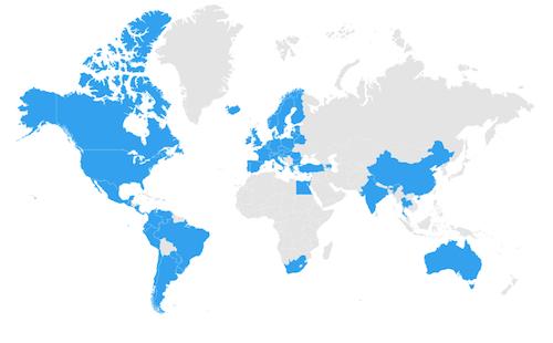 Dekkingskaart MiFi router en Data Simkaart