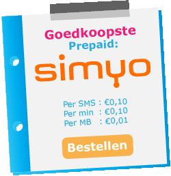 goedkoopste prepaid simkaart